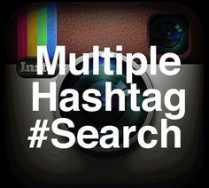 Search Instagram by Users, Photos, Comments, #Hashtags